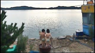 Семейный отдых в Корее. Ночная охота. KOREA/VLOG/.