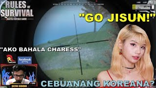 """CEBUANANG KOREANA?"" Duo game with Charess (ROS BISAYA)"