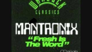 Fresh Is The Word - Mantronix.wmv