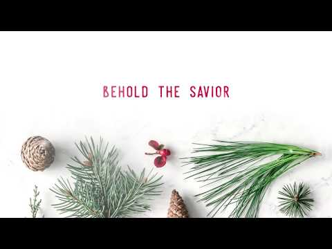 Meredith Andrews - Behold The Savior (Official Lyric Video)