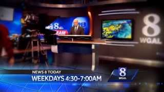 WGAL 8 News Set Presentation