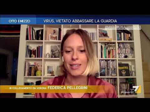 """Coronavirus, Federica Pellegrini: """"Non dobbiamo scoraggiarci"""""""