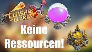 CLASH OF CLANS Deutsch: Keine Ressourcen mehr! ✭ Let's Play Clash of Clans