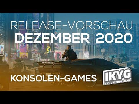 Games-Release-Vorschau - Dezember 2020 - Konsole