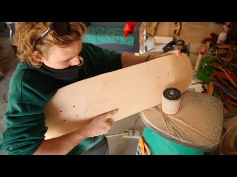 How to Make Skateboards Out of Your Garage with HANDSHAPED SKATEBOARDS