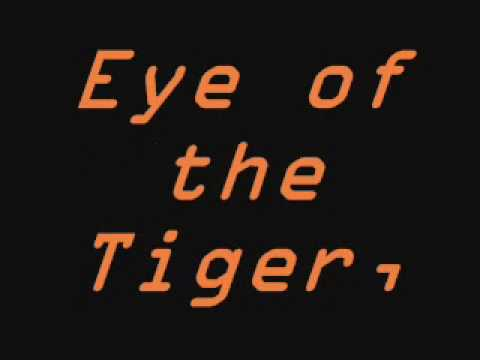 eye of the tiger lyrics youtube. Black Bedroom Furniture Sets. Home Design Ideas