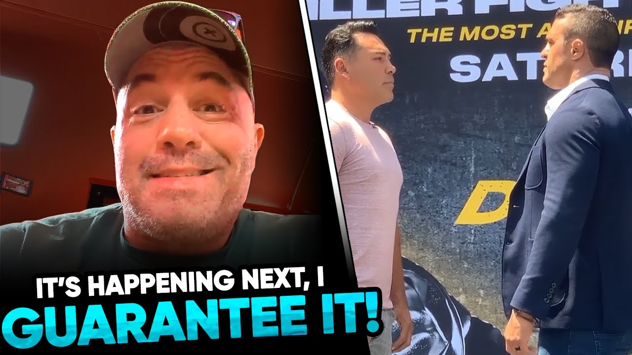 Joe Rogan says the UFC will book Conor McGregor vs Nate Diaz 3 Next, Oscar De le Hoya & Vitor Belfor