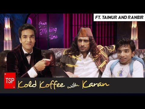 Koffee With Karan Spoof ft. Taimur and Ranbir | Bade Chote