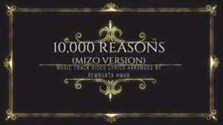 10,000 Reasons (Aw ka thlarau fak rawh) - Matt Redman Karaoke/Instrumental/Music track video lyrics