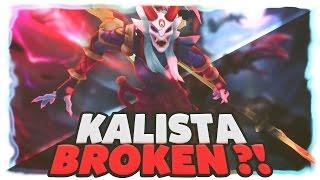 C9 SNEAKY | IS KALISTA BROKEN?!