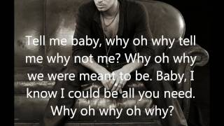 Enrique Iglesias - Why not me (Lyrics On Screen)