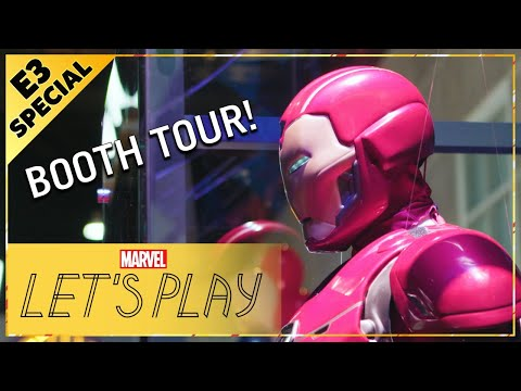 Look Inside the Marvel?s Avengers Booth at E3 2019! | Marvel Let's Play