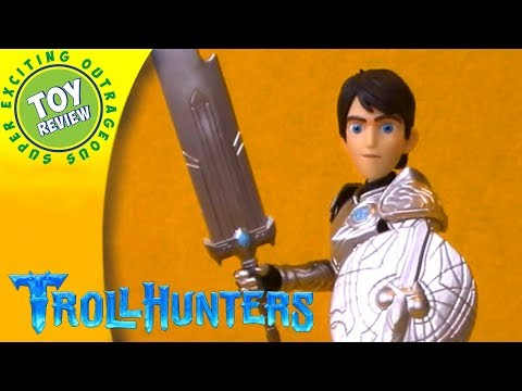 """Trollhunters 12"""" JIm figure by Funko - SEO Toy Review"""