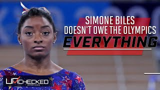 Simone Biles Doesn't Owe The Olympics Everything