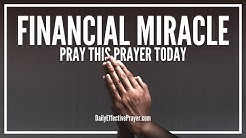 Prayer For Financial Miracle - Daily Prayers For Financial Miracles