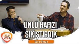 ÜNLÜ HAFIZI SIKIŞTIRDIK - SORU/CEVAP