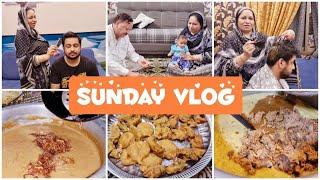 Sunday Vlog - Husband Ki Pasand Ka Khana Banaya - Cooking with Shabana ♥️