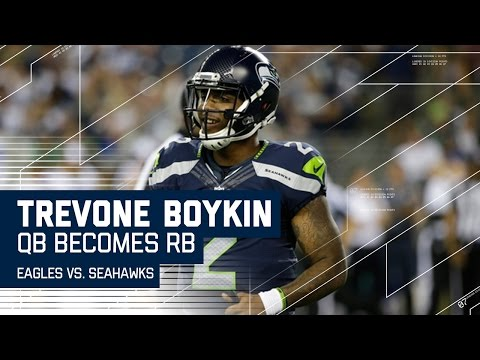 Seahawks Use Backup QB as a Running Back, It Does Not End Well | Eagles vs. Seahawks | NFL