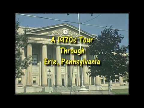 Tour Through Erie Pennsylvania - Around 1980
