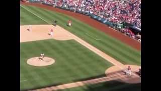Washington Nationals vs. Cardinals Pat Neshek April 20, 2014