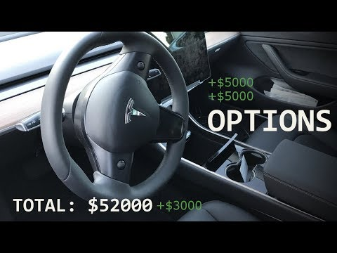 Thumbnail: Tesla Model 3 Upgrade Options, Price & Specs