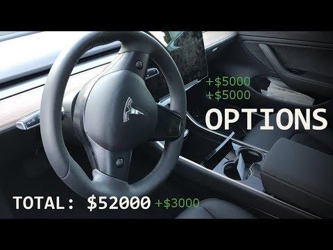 Tesla Model 3 Upgrade Options, Price & Specs