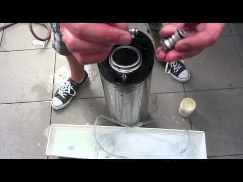 How I Prepare, Clean And Sanitize My Keg Before Kegging My Homebrew.