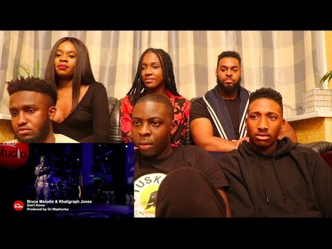 Bruce Melodie & Khaligraph Jones & Dj Maphorisa - Don't Know ( REACTION VIDEO ) || @BruceMelodie