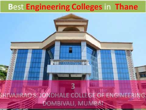 Best Engineering Colleges in Thane