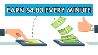 Earn $4.80 Every Minute Filling Out Numbers & Letters (2019)