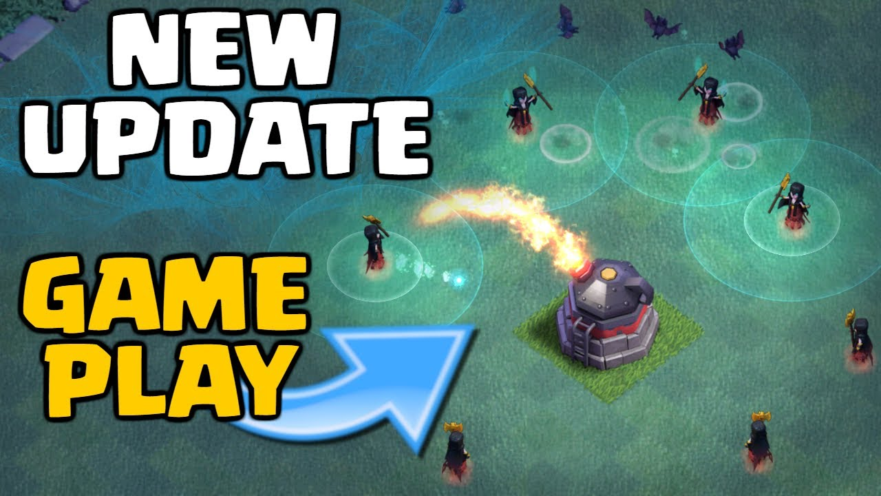 Clash of Clans NEW UPDATE GAMEPLAY! Builder Base Level 6 ...