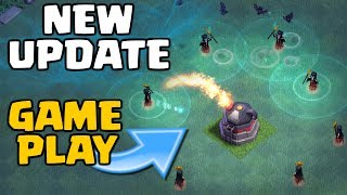 Clash of Clans NEW UPDATE GAMEPLAY! Builder Base Level 6 - Night Witch CoC Troop Attacks!