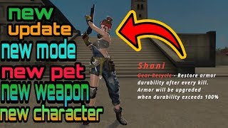 Free fire today update,||free fire upcoming update 16 October ( mode ,characters, weapons, pet,)