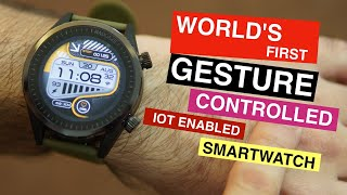 Watchout Madgaze smartwatch - It's different, Gesture Control Smartwatch