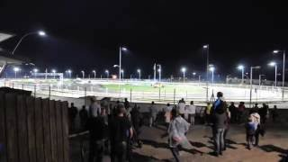 Great Yarmouth Stadium Caravan Destruction 28-08-16