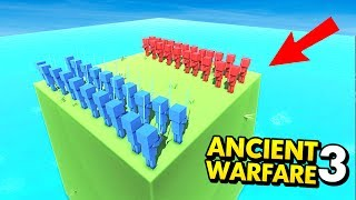 BATTLE ON REMOTE ISLAND IN ANCIENT WARFARE 3! (Ancient Warfare 3 Funny Gameplay)