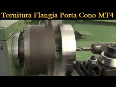 Tornitura Maschera Per Cono MT4 [ Turning Piece To Work MT4 Cone ]