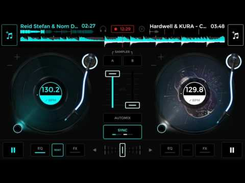 MY EDM MIXING PROJECTS || Using Edjing mix app