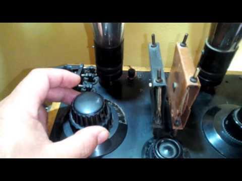 antigua radio regenerativa
