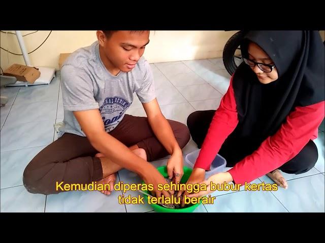 Cara Membuat Topeng Dari Bubur Kertas