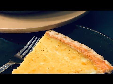 Egg Custard Pie Old Fashion Way