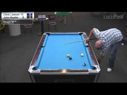 Chris Lawson vs John Keeler at River City Billiards