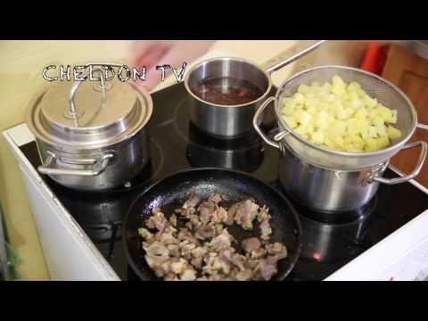 Рецепт Легкий овощной суп с рисом