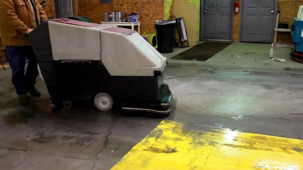 floors sweeper scrubber floor minuteman