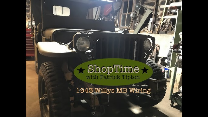 ww2 jeep restoration/1943 willys mb : wiring harness part 1 #g503 - youtube  youtube