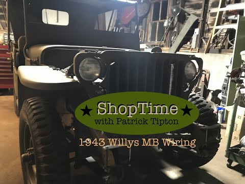 [SCHEMATICS_4PO]  WW2 Jeep Restoration/1943 Willys MB : Wiring Harness Part 1 #G503 - YouTube | Mb Jeep Wiring Harness |  | YouTube