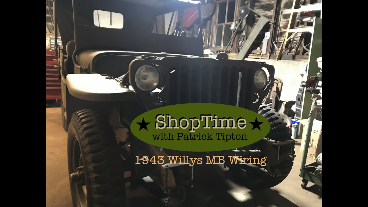 55 willys jeep wiring diagram 1943 willys mb restoration wiring harness part 1 youtube  1943 willys mb restoration wiring