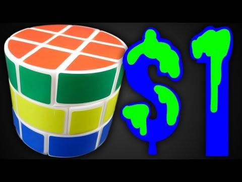 Dollar Store Barrel Cube