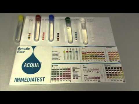 Test Acqua dal rubinetto di Dorgali 26_3_16
