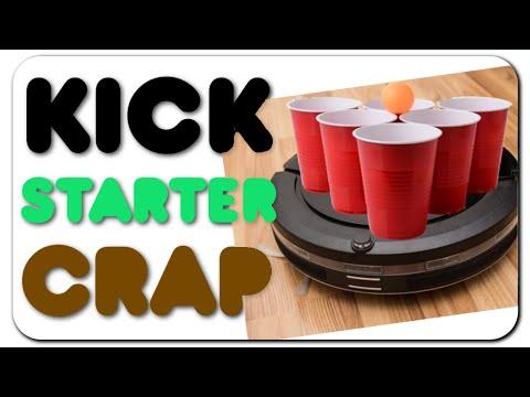 Kickstarter Crap - Roomba Pong, Breweries, & Artix Cooler